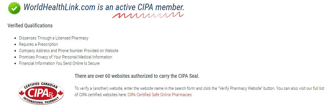 active CIPA member