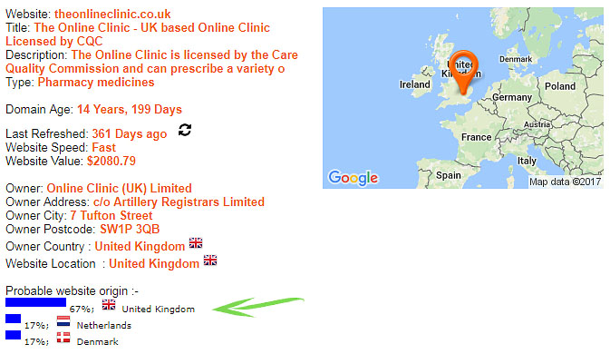TheOnlineClinic co uk Reviews - A Risk-Free Online Drugstore