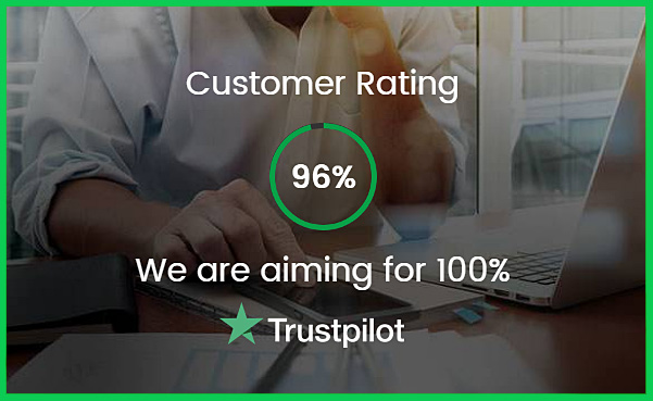 high customer rating