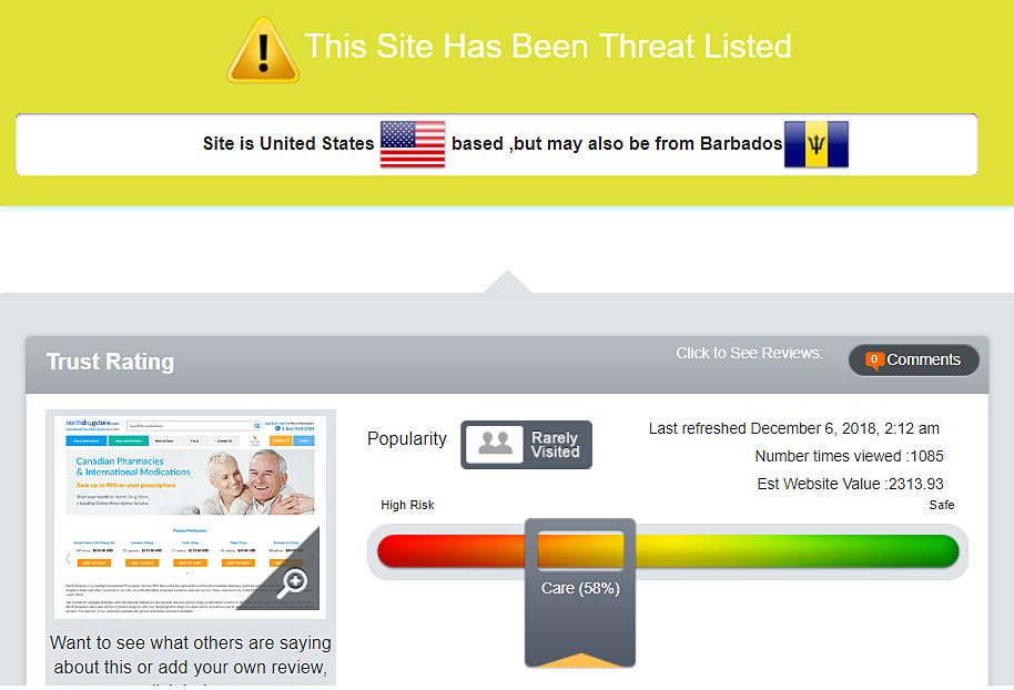 threat listed