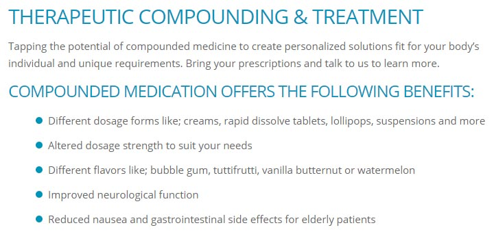 compounded medication